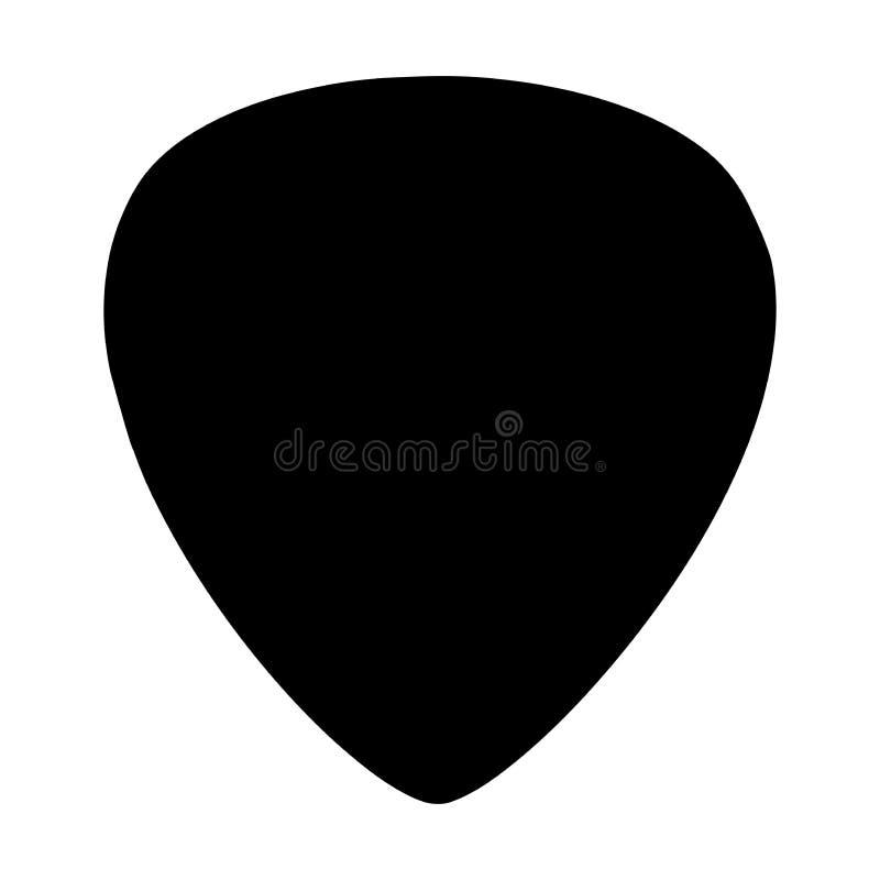 Icône de sélection de guitare illustration libre de droits