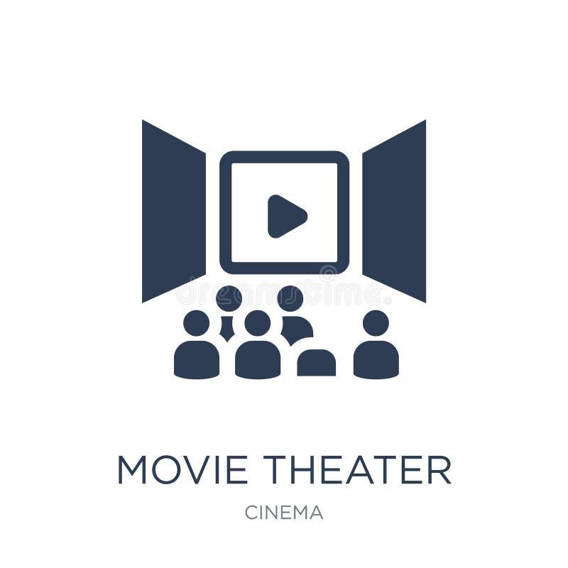 Icône de salle de cinéma  illustration stock