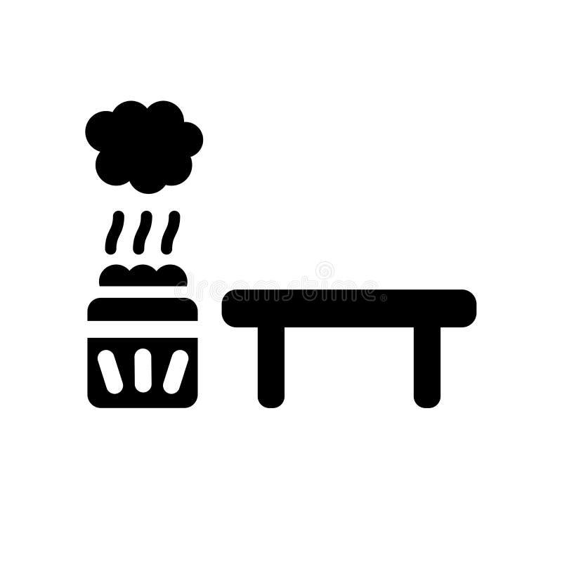 Icône de sauna  illustration de vecteur
