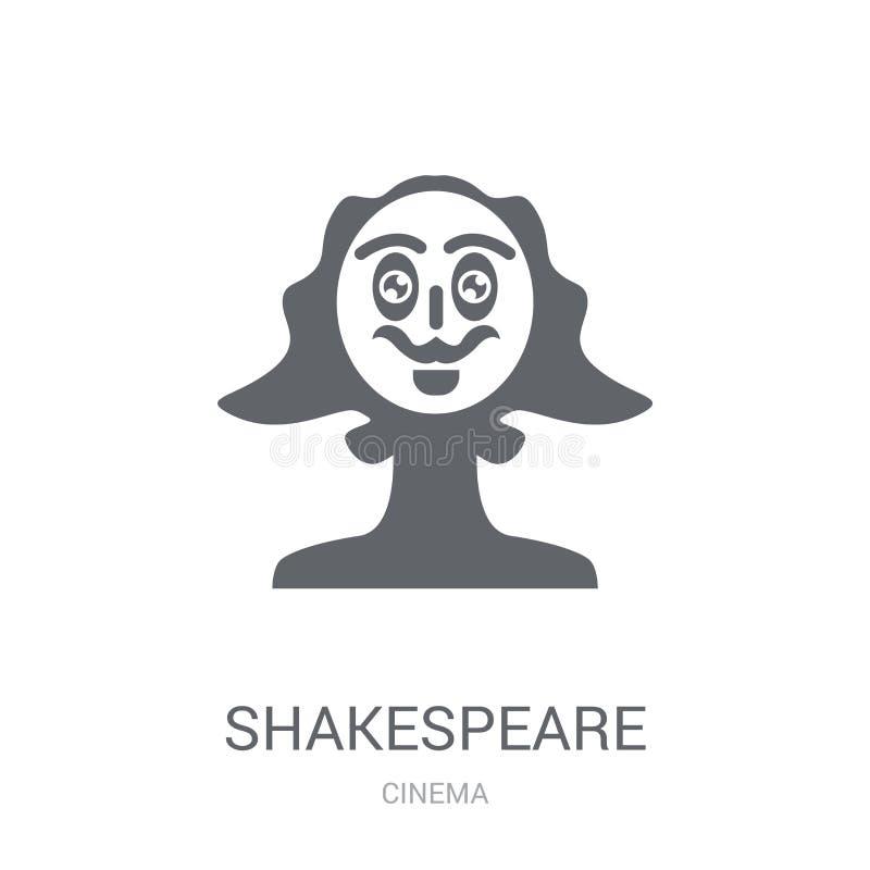 Icône de Shakespeare  illustration libre de droits