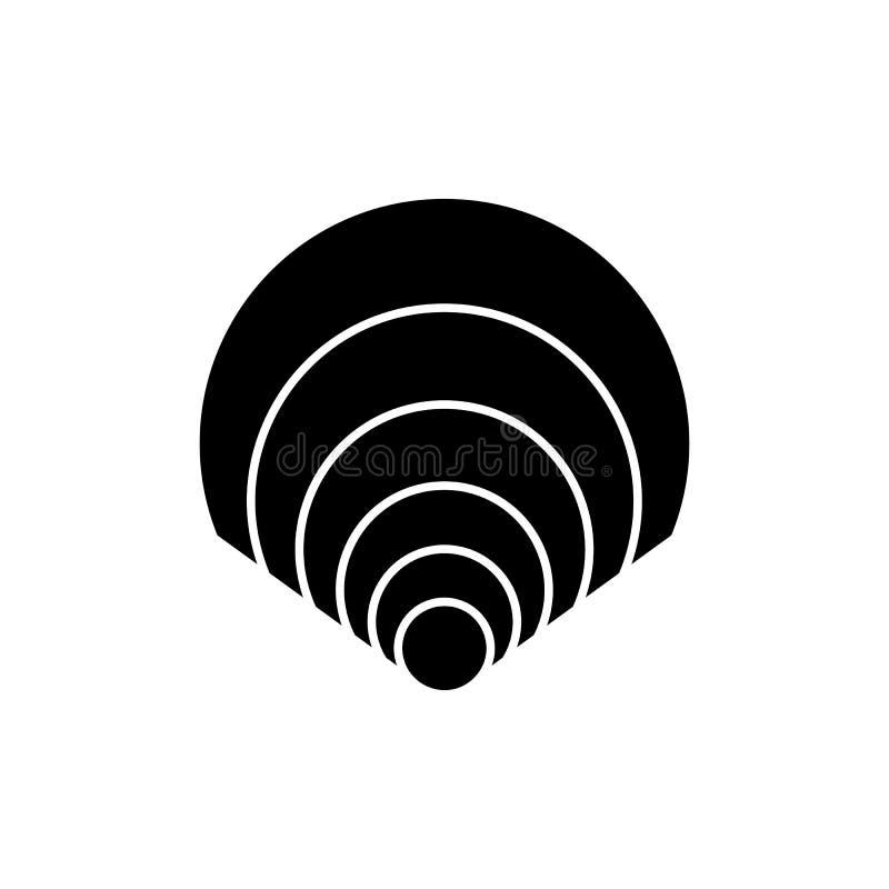 Icône de Shell, éléments pour votre conception photos stock