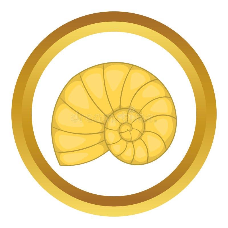 Icône de Shell illustration de vecteur