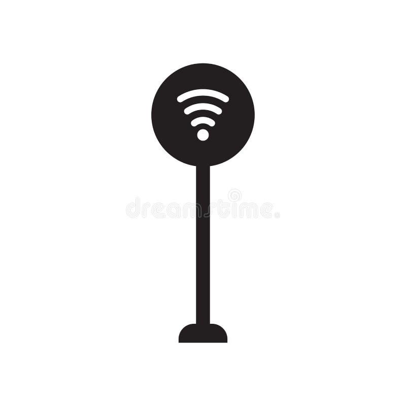 icône de signe de signal  illustration stock