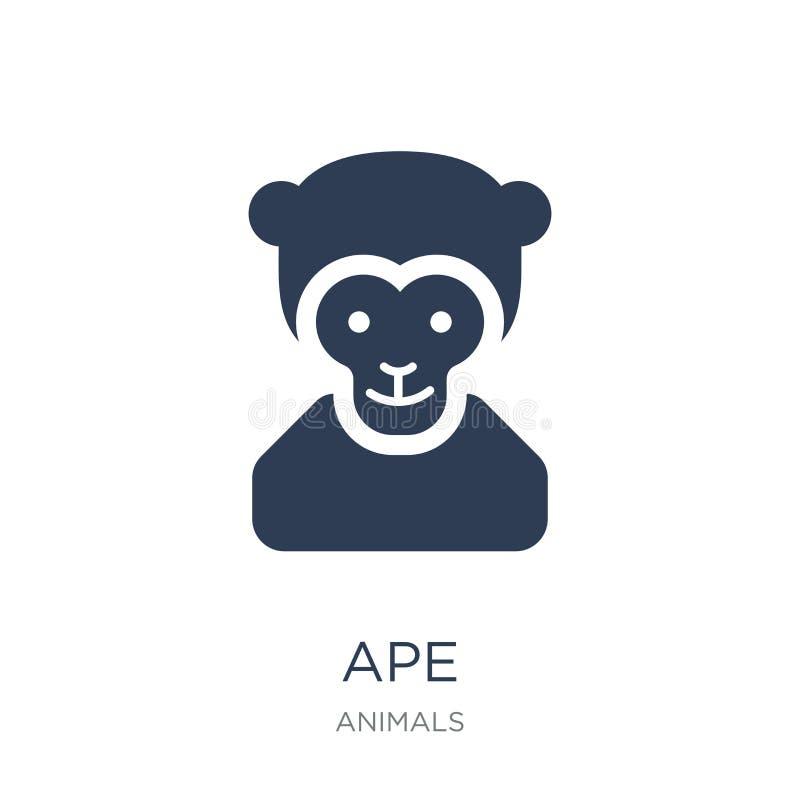 Icône de singe  illustration libre de droits