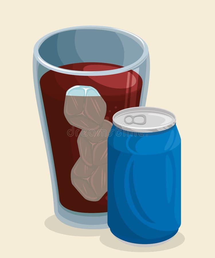 Icône de soude de kola illustration de vecteur
