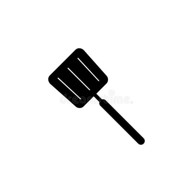 Icône de spatule Chef, icône d'élément de cuisine Conception graphique de qualité de la meilleure qualité Signes, icône de collec illustration stock