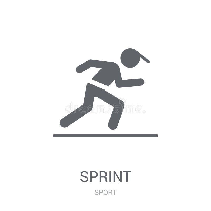 icône de sprint  illustration libre de droits