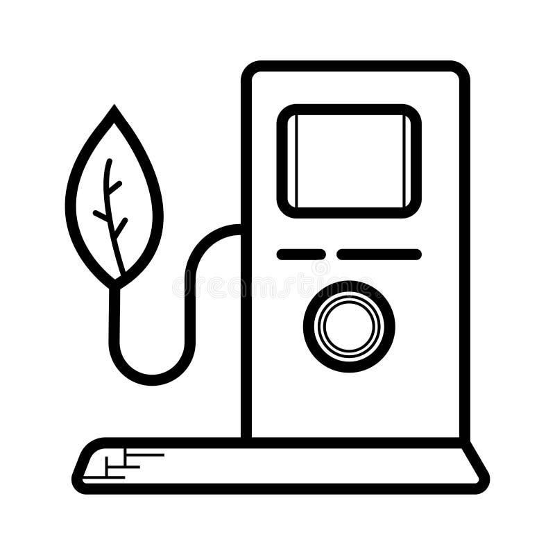 Icône de station-service illustration de vecteur