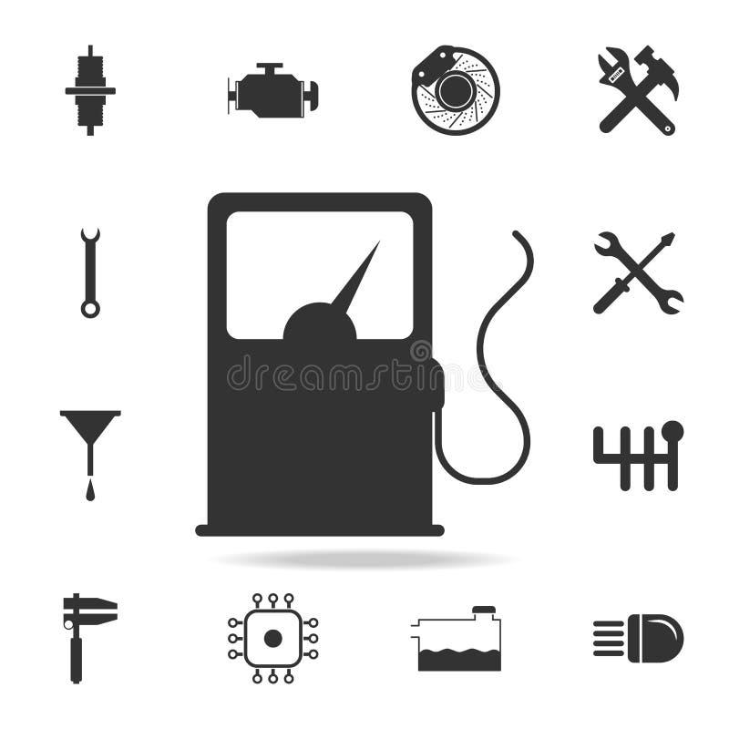 Icône de station service Ensemble détaillé d'icônes repear de voiture Icône de la meilleure qualité de conception graphique de qu illustration stock