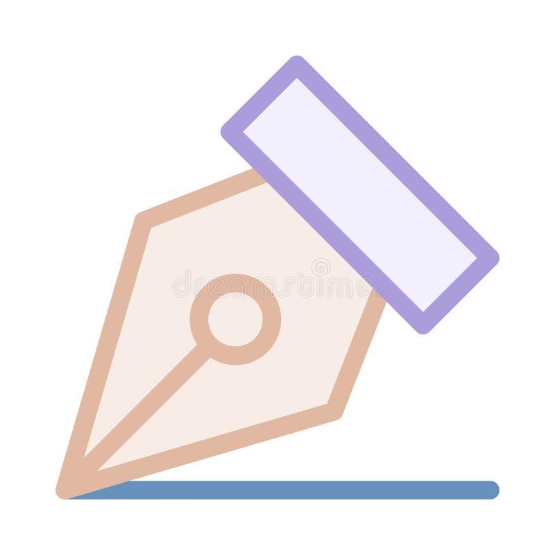 Icône de stylo-plume illustration libre de droits