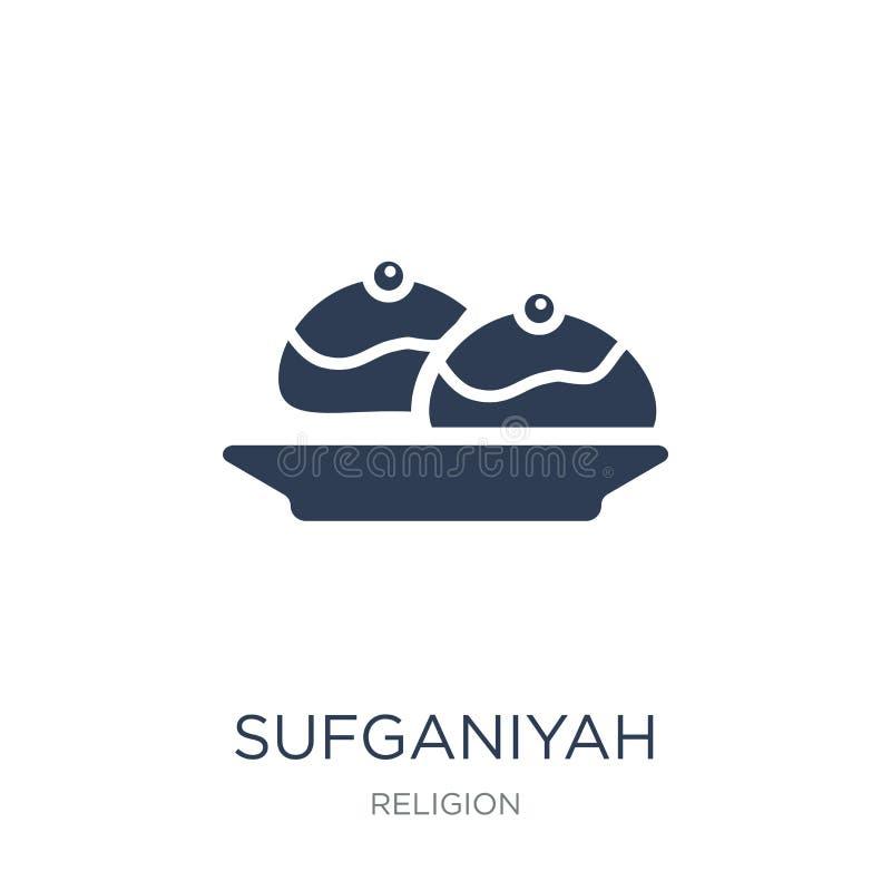 icône de sufganiyah  illustration libre de droits