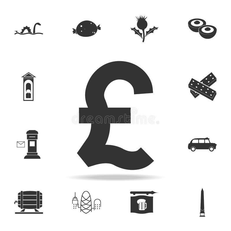 icône de symbole de livre Ensemble détaillé d'icônes de culture du Royaume-Uni Conception graphique de qualité de la meilleure qu illustration stock