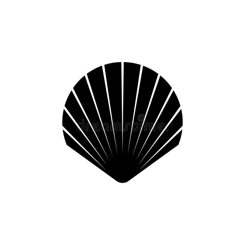 Icône de symbole de Shell ?l?ments pour votre conception photographie stock