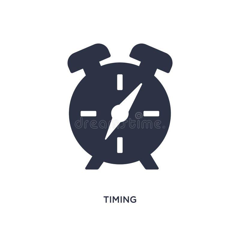 icône de synchronisation sur le fond blanc Illustration simple d'élément de concept de ressources humaines illustration libre de droits