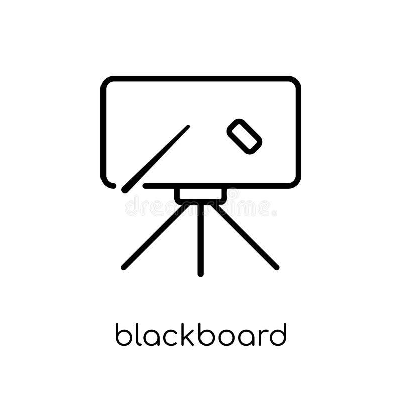 Icône de tableau noir  illustration de vecteur