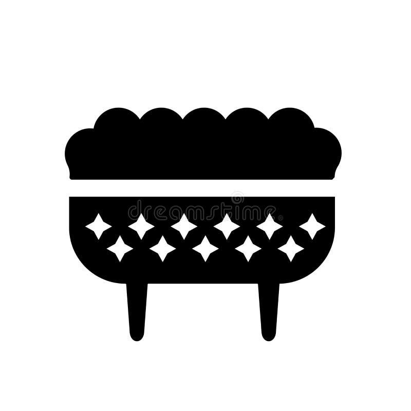 Icône de tabouret  illustration stock