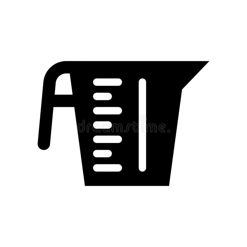 Icône de tasse de mesure  illustration libre de droits