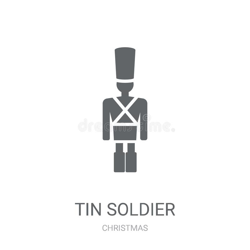 Icône de Tin Soldier  illustration de vecteur