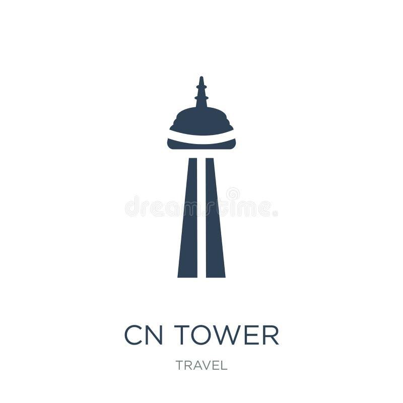 icône de tour de NC dans le style à la mode de conception icône de tour de NC d'isolement sur le fond blanc appartement simple et illustration libre de droits