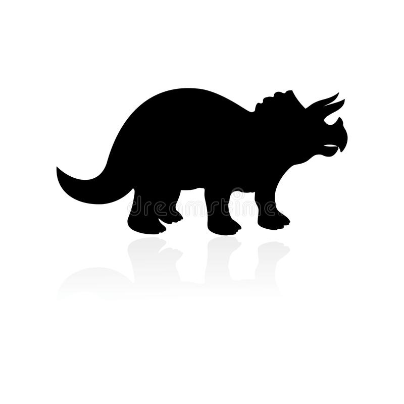 Icône de Triceratops illustration de vecteur