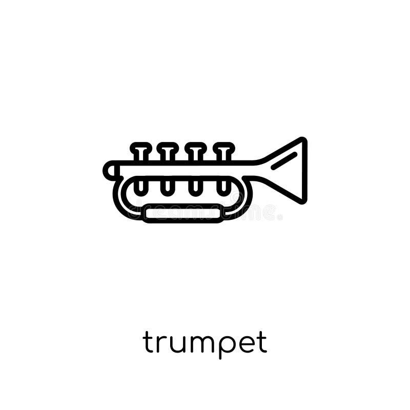 Icône de trompette de collection illustration libre de droits
