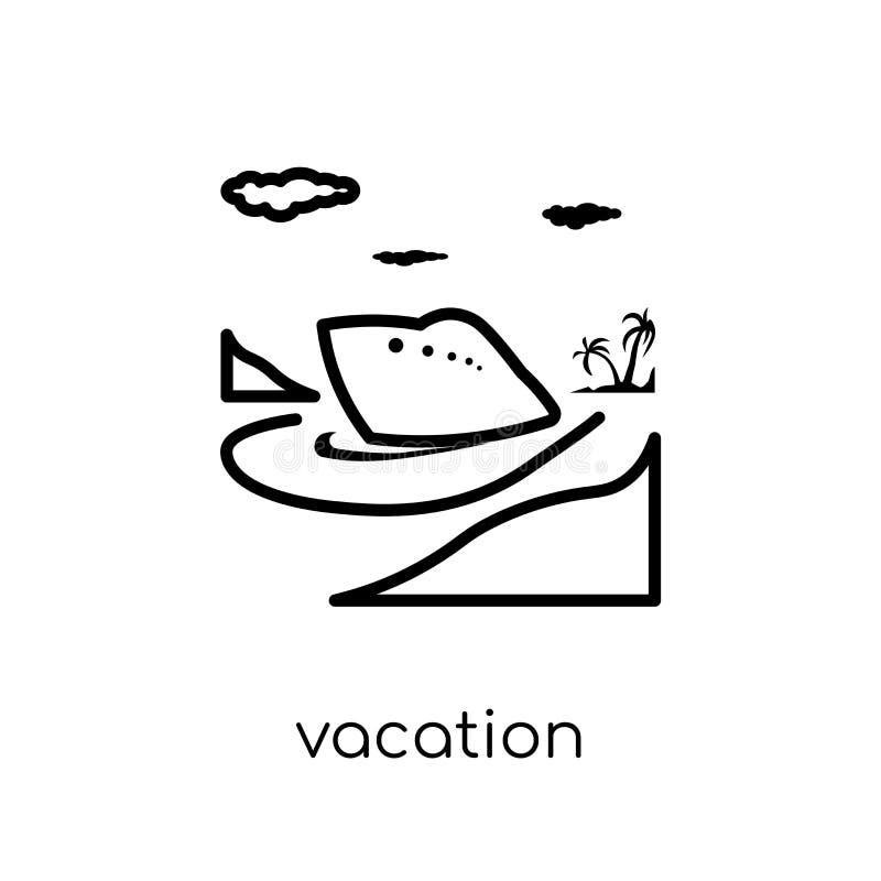 Icône de vacances  illustration de vecteur