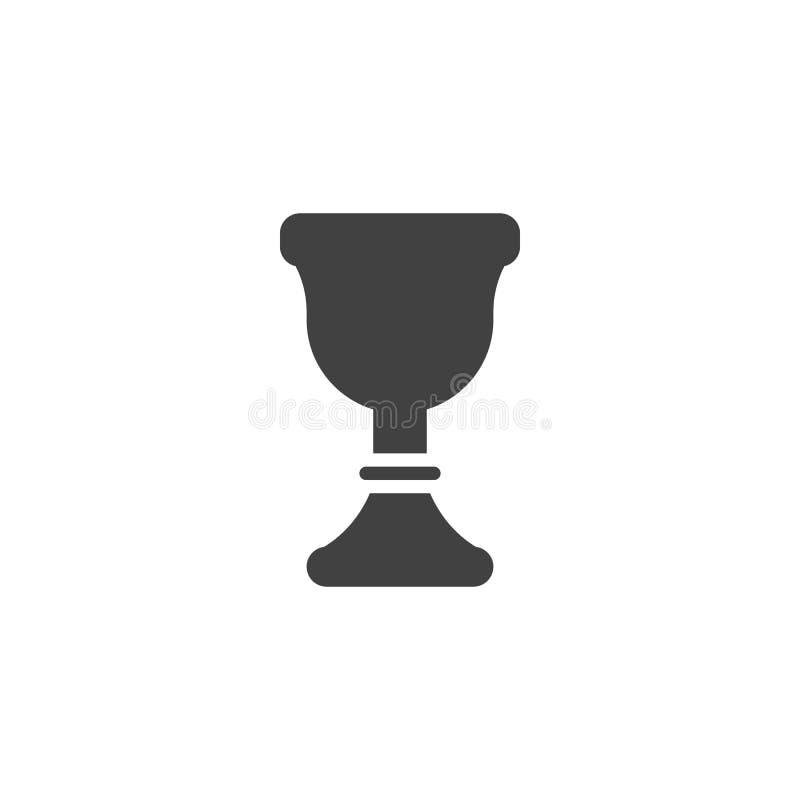 Icône de vecteur de calice illustration libre de droits