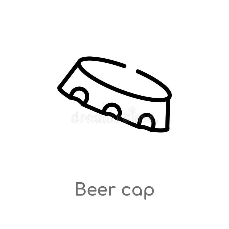 icône de vecteur de chapeau de bière d'ensemble r Course Editable de vecteur illustration de vecteur