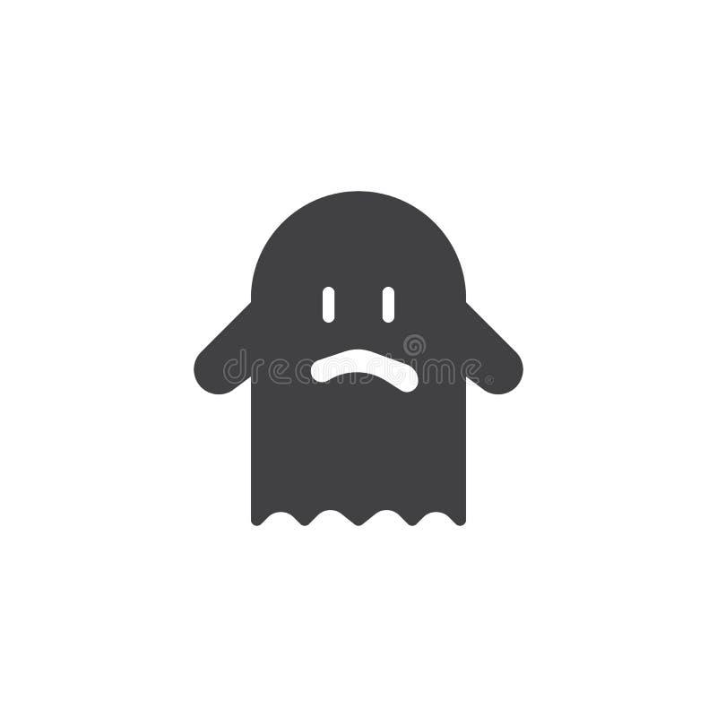 Icône de vecteur de costume de Ghost illustration de vecteur