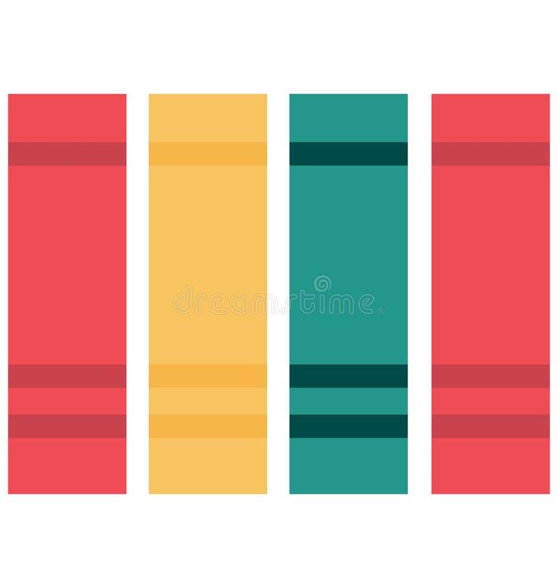 Icône de vecteur de couleur d'isolement par dossiers images libres de droits