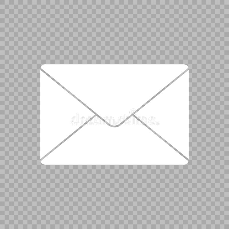 Icône de vecteur de courrier illustration de vecteur