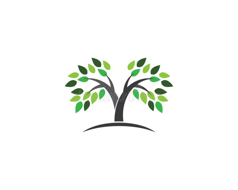 Icône de vecteur d'arbre illustration de vecteur