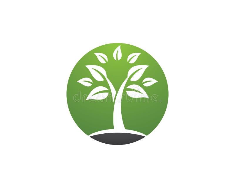 Icône de vecteur d'arbre illustration libre de droits