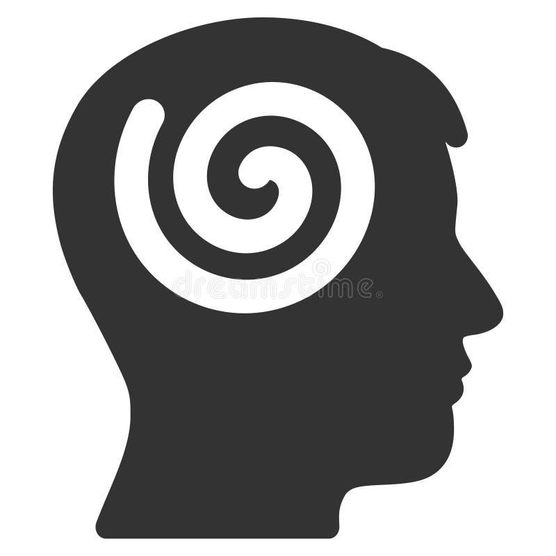 Icône de vecteur d'hypnose illustration de vecteur