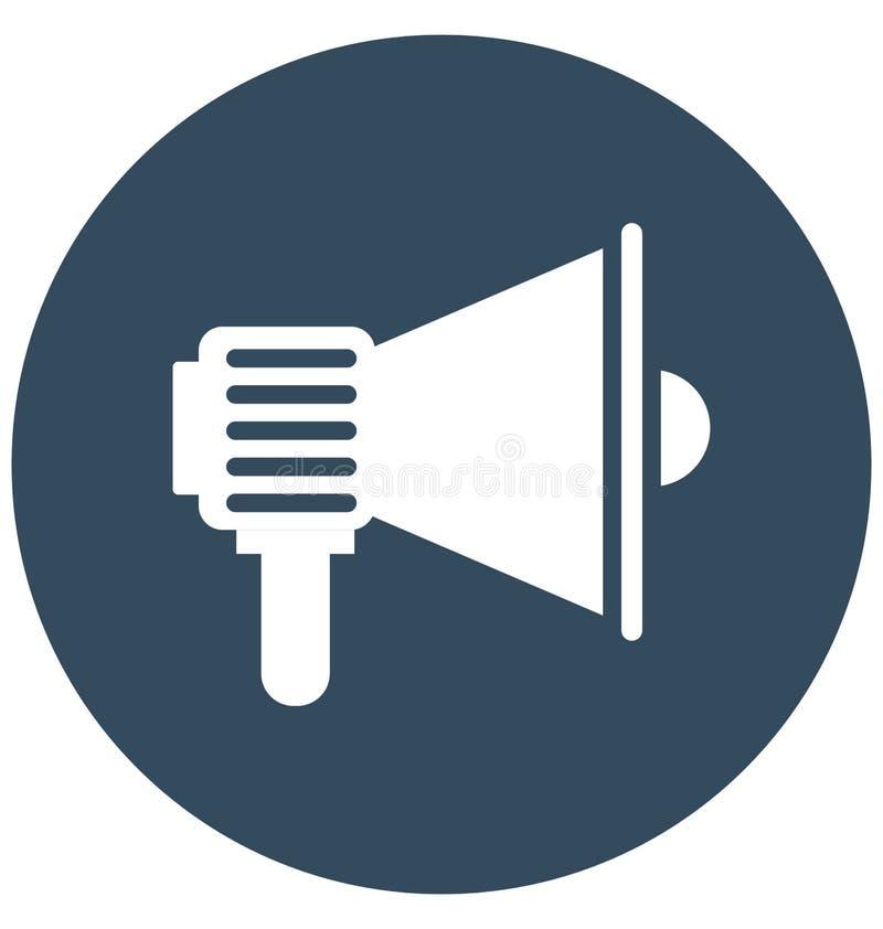 Icône de vecteur d'isolement par annonce qui peut être facilement modifiée ou éditer l'icône de vecteur d'isolement par annonce q illustration libre de droits