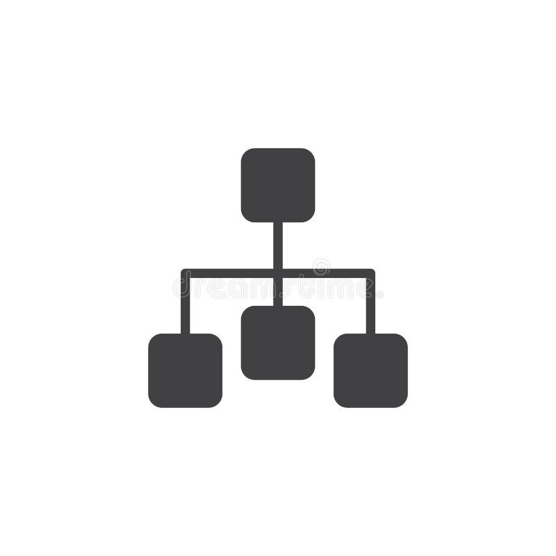 Icône de vecteur de diagramme illustration libre de droits