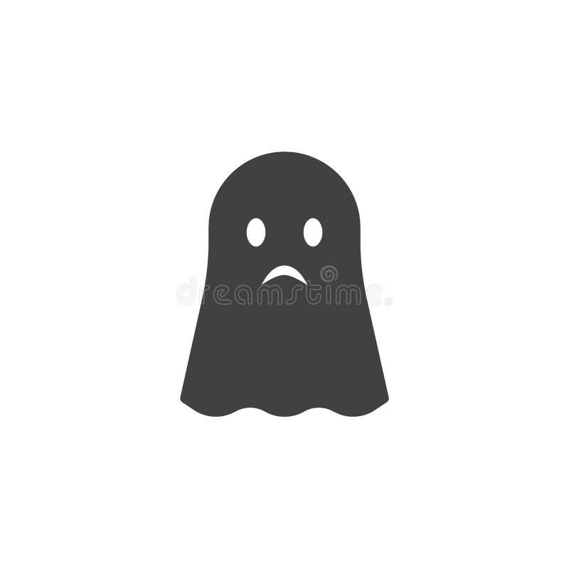 Icône de vecteur de Ghost illustration libre de droits