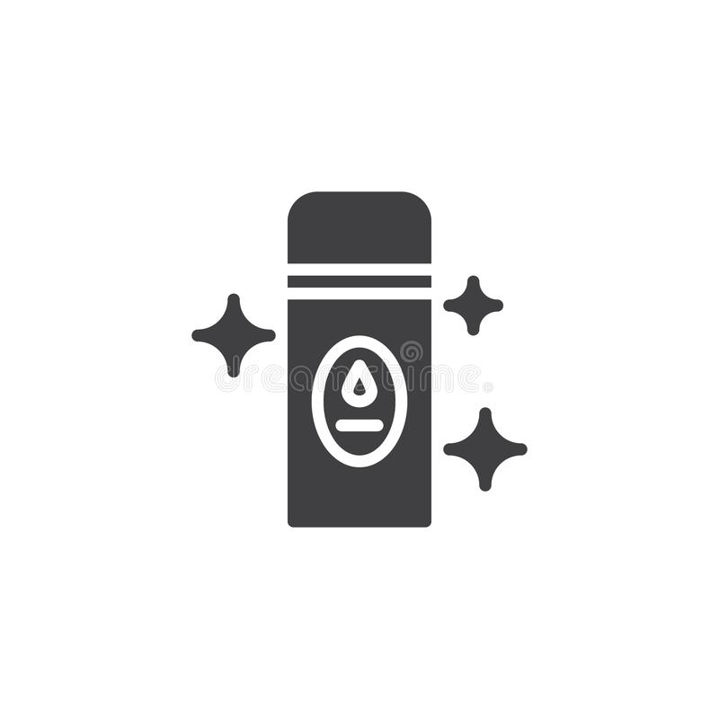 Icône de vecteur de parfum d'ambiance illustration libre de droits