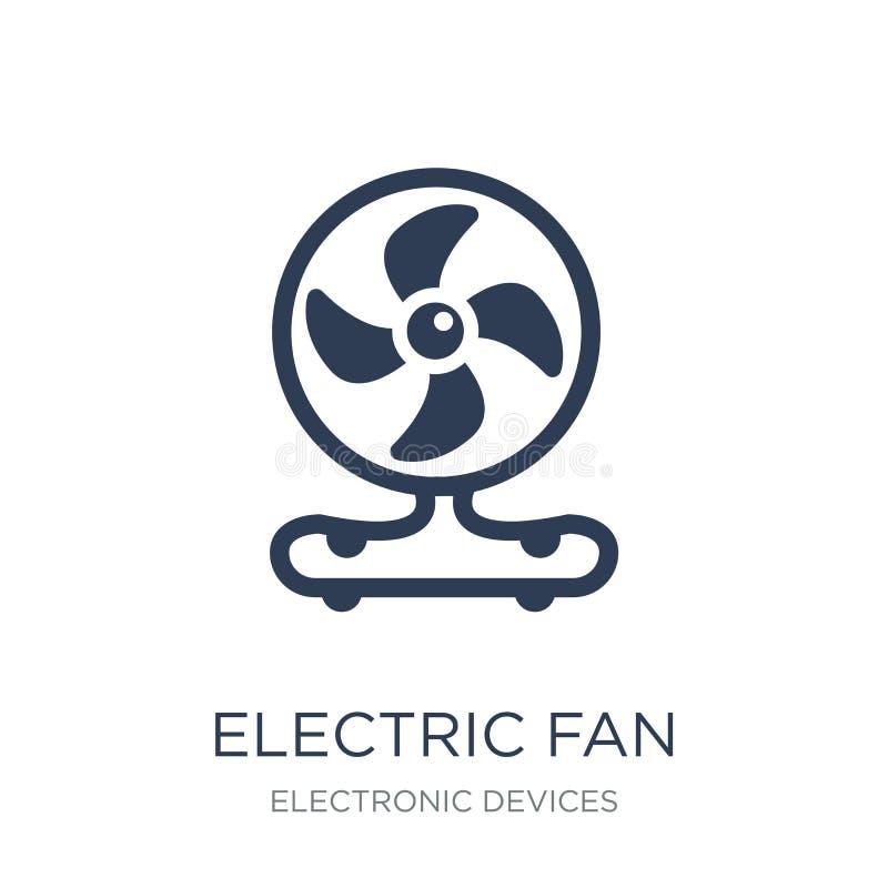 Icône de ventilateur électrique  illustration libre de droits