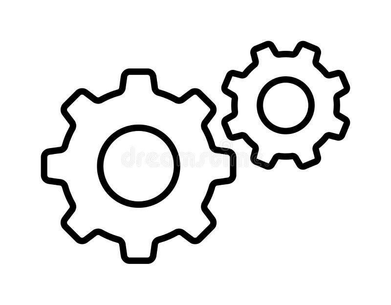 Icône de vitesse d'arrangement illustration de vecteur