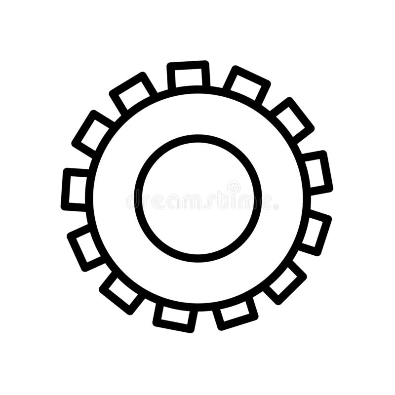 Icône de vitesse d'isolement sur le fond blanc images stock