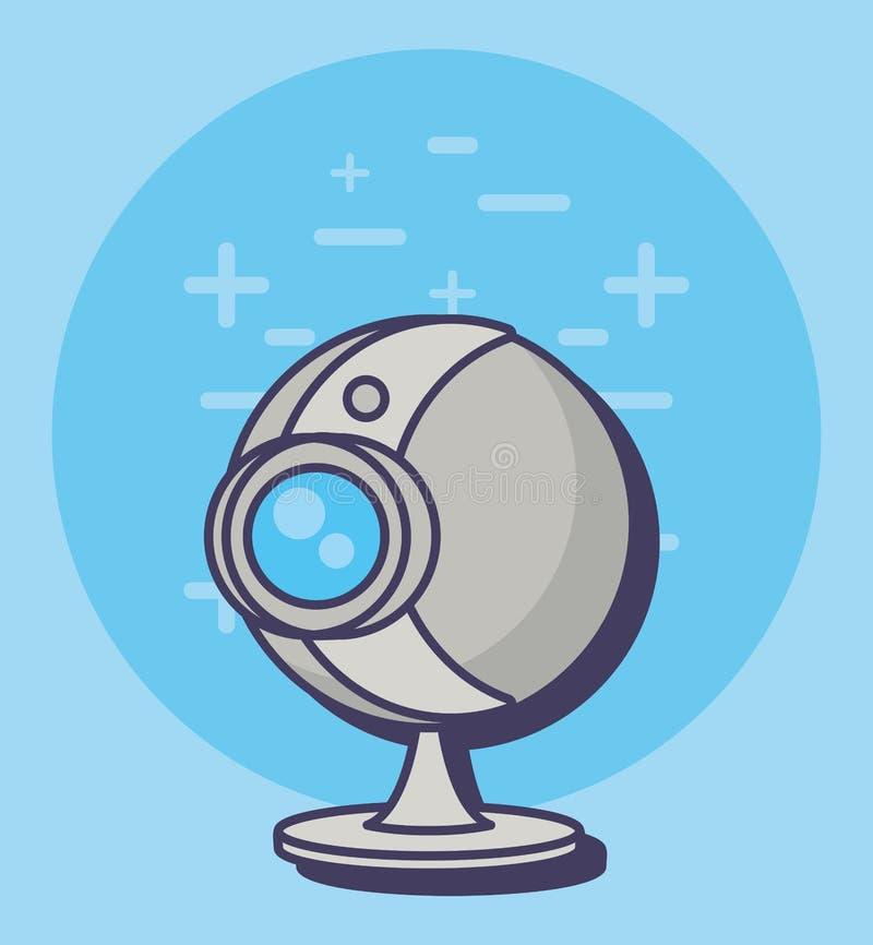 Icône de webcam illustration de vecteur