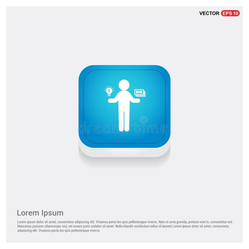 Icône disponible d'argent illustration de vecteur