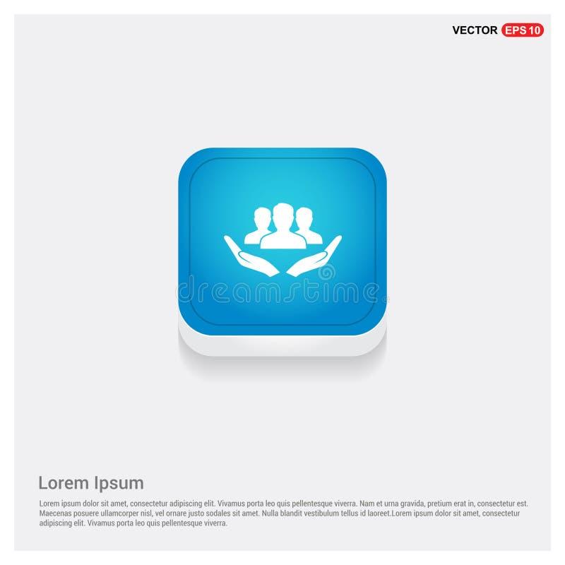 Icône disponible d'utilisateur illustration de vecteur