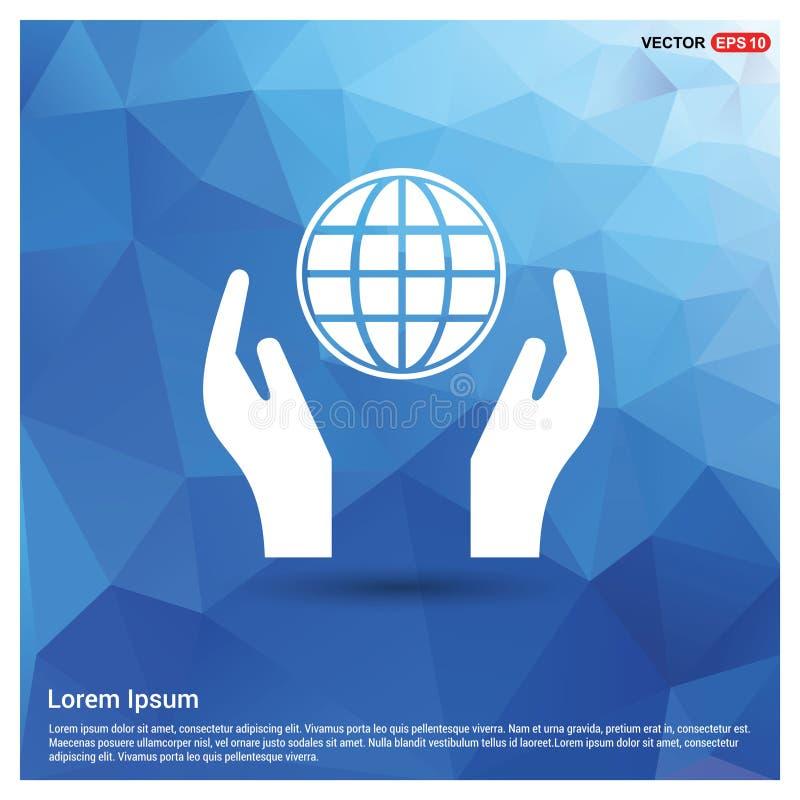 Icône disponible de globe illustration libre de droits