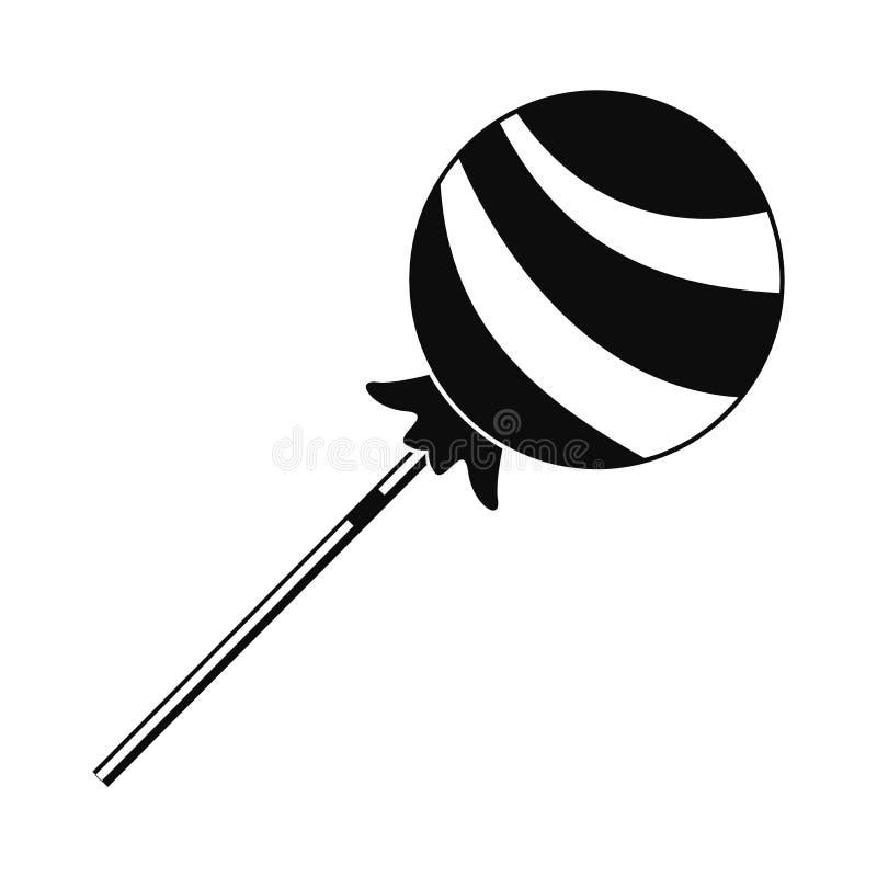 Icône douce de lucette, style simple illustration stock