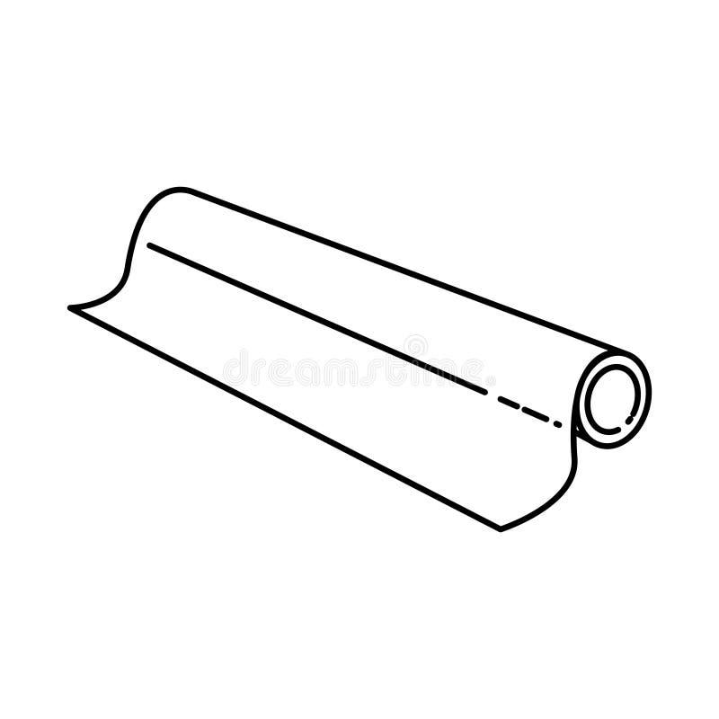 Icône en aluminium d'aluminium, illustration de vecteur illustration stock