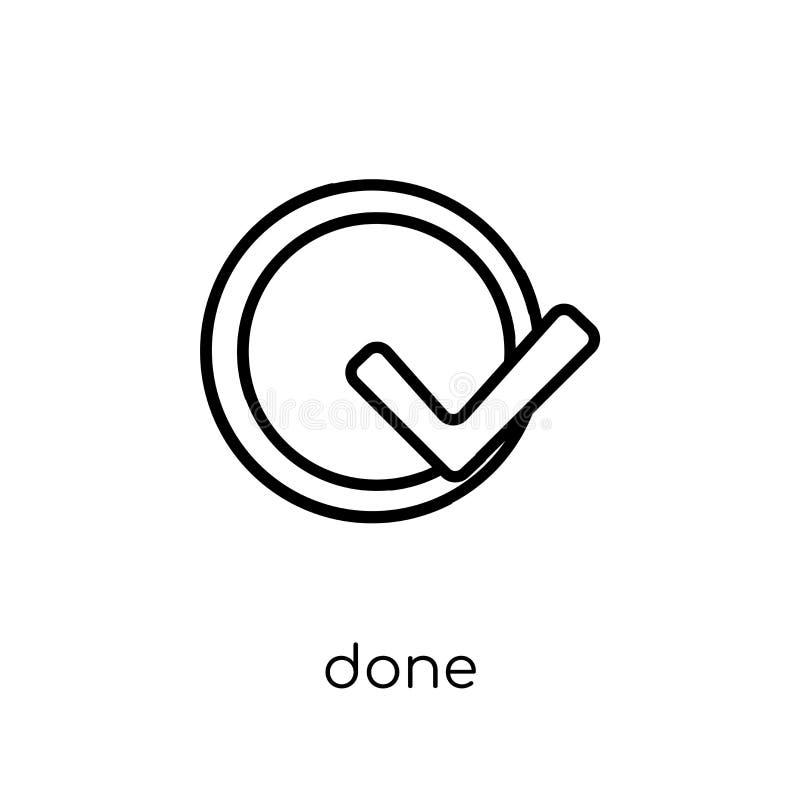 Icône faite de collection de productivité illustration libre de droits