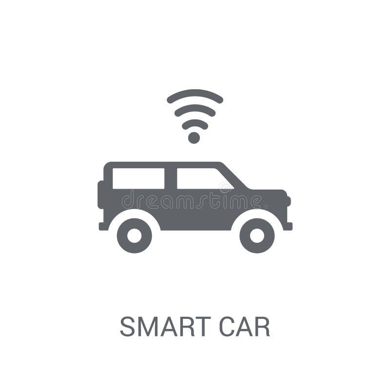 Icône futée de voiture  illustration libre de droits