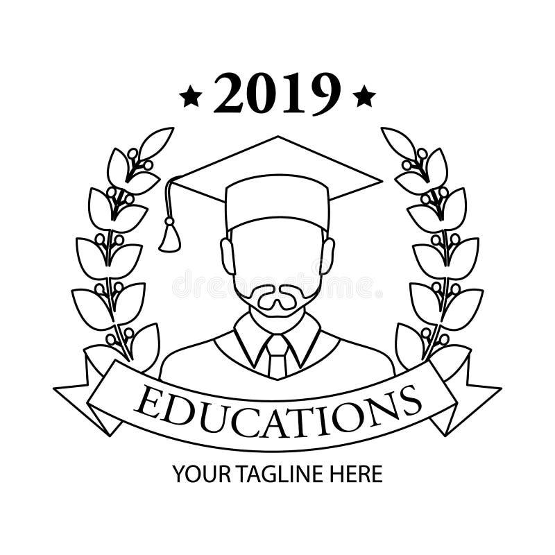 Icône graduée Conception linéaire graduée de symbole de collection de personnes Illustration simple de vecteur d'élément d'ensemb illustration libre de droits